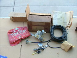 1960 Ford Galaxie See Clear Windshield Washer Kit For 6-cylinder Car, Nos