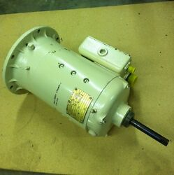 General Electric Dc Motor 1 Hp 5000 Rpm 5bby49ab6 5/8 Shaft Spins Smoothly