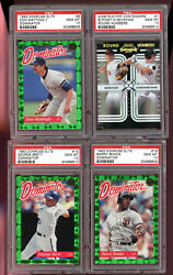 2008 Playoff Contenders Buster Posey Gordon Beckham Round Numbers 1 Psa 10 Card