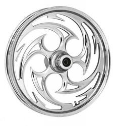 Rc Components Savage Chrome 18 Wheels Package Set Tires Harley Flh/flt 2008