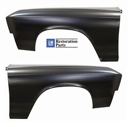 FENDER CHEVELLE 67 PAIR ELCAMINO AMD TOOLING FRONT OUTER PANEL