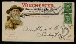 Winchester Repeating Rifles Shotguns Advertising Cover Used Multi-color Bq1481