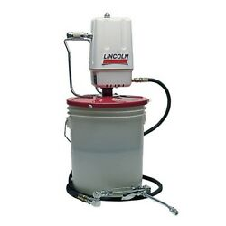 Lincoln 989 Grease Pump Assembly Air Operated For 25-50lb Containers