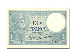 [22772] France 10 Francs 10 F 1916-1942 And039and039minerveand039and039 1936 Km 73e