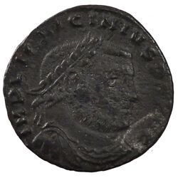 [60231] Licinius I Nummus Thessalonica Ef40-45 Copper Cohen 123 3.30