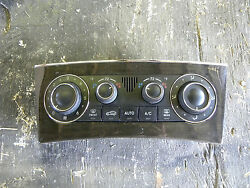 2007 Mercedes Benz W203 C230 AC Climate Control Panel 2038304285