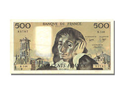 [22940] France 500 Francs 500 F 1968-1993 And039and039pascaland039and039 1981 Km 156e