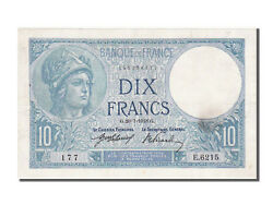 [100677] France 10 Francs 10 F 1916-1942 And039and039minerveand039and039 1918 Km 73a
