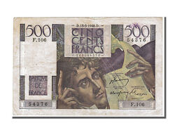 [252096] France 500 Francs 500 F 1945-1953 And039and039chateaubriandand039and039 1948 Km
