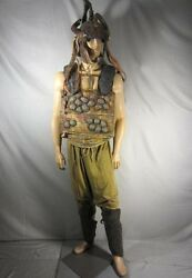 Spartacus Screen Worn Male Rebel Helmet Chest Piece Pants And Greaves Coa
