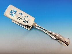 Italian By And Co. Sterling Silver Asparagus Tongs Yoked 10 1/2