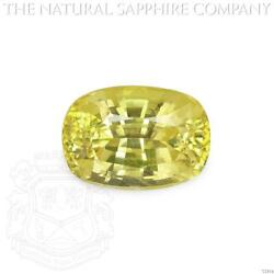 Natural Untreated Yellow Sapphire, 1.20ct. Y2954