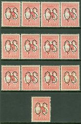 Australia 1913. Stanley Gibbons O2cw Die I Watermark Inverted. Catalog Andpound1690
