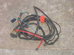 Nos Mopar 1963 Chrysler Town And Country Station Wagon Wiring Harness