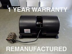 R107 560SL 380SL BLOWER MOTOR WITH ( 7 PIN ) REGULATOR REMANUFACTURED