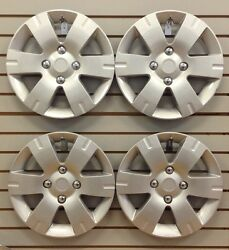 New 15 Hubcap Wheelcover Set Of 4 That Fit 2007-2011 Nissan Sentra