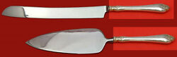 Duchess By Whiting Sterling Silver Wedding Cake Set Server 2pc Custom Made Hhws