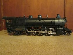 Ho Brass Great Northern 0 - 1 2-8-2 3031 Loco And Tender
