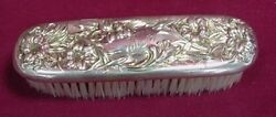 Lily By Whiting Sterling Clothes Brush