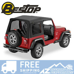 Bestop Supertop Replacement Skin Tint Black Diamond For 97-06 Jeep Wrangler Tj