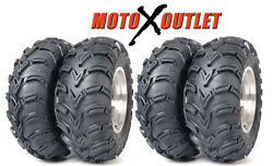 Yamaha Grizzly 660 Tires Atv Itp Mudlite Set Of 4 Front 25x8-12 2 Rear 25x10-12