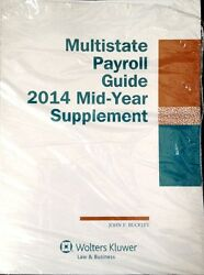 Multistate Payroll Guide 2014 Mid-year Supplement Wolters Kluwer New Paperback