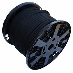 Usa 1/4 X 250and039 Bungee Cord Shock Cord Bungie Cord Marine Grade Stretch Cord Blk