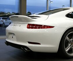 Porsche 991 Carrera Sport Design Duck Tail Wing Spoiler for fits: 2012-2016
