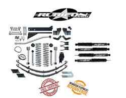 Rubicon Express 5.5 Short Arm W/ Leaf Springs And Shocks For 84-01 Jeep Xj