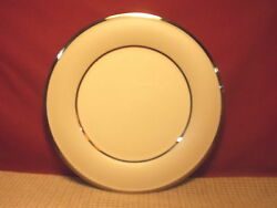 Lenox China Ivory Frost Pattern Dinner Plate 10 3/4