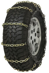 Quality Chain 2127slc Cam 5.5mm Square Link Tire Chains Snow Traction Suv Truck
