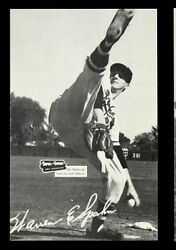 1954-56 Warren Spahn Milw. Braves Spic And Span Postcard Measures 4 X 6