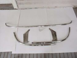 1955 Ford Victorianot Crownoem Back Glass Moldings5 Pieces