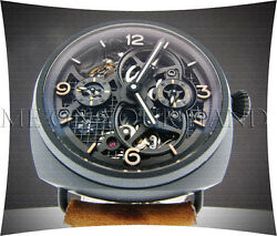 PANERAI PAM 350 RADIOMIR TOURBILLON GMT CERAMIC 'LO SCIENZIATO' SKELETON LIMITED