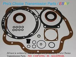 Gm 3l80 Th400 Turbo Hydramatic Automatic Transmission External Seal Reseal Kit