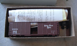 Vintage Ho Scale Accurate Finishing Inc Nkp 7037 Box Car Kit In Box