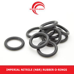 Imperial Nitrile Rubber O Rings 2.62mm Cross Section Bs126-bs150 - Uk Supplier