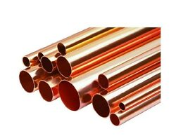Any Size Copper Pipe/tube 1/4- 6 Inch Diameter X 1and039 Foot Length Or More Type L