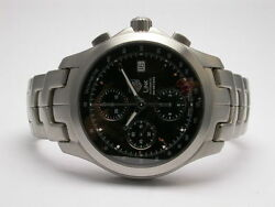 Tag Heuer Link Chronograph Stainless Steel Automatic Mens Watch Style Cjf2110