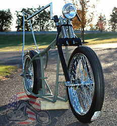 A Grinder Harley Ironhead Sportster Rolling Chassis Paughco Frame Bike Kit Xl