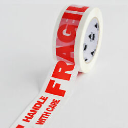 Fragile Marking Packing Tape 3 X 110 Yard Handle With Care Tapes 2 Mil 12 Rolls
