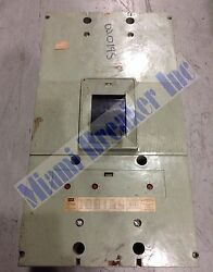 Np63b1600 Federal Pacific Fpe Type Np Circuit Breaker 3 Pole 1600 Amp 600v