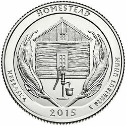 2015-pandd Homestead National Monument Of America Quarters