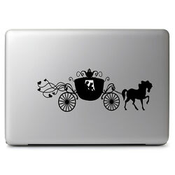 Cinderella Carriage Disney for Macbook Laptop Car Window Wall Art Decal Sticker $11.63