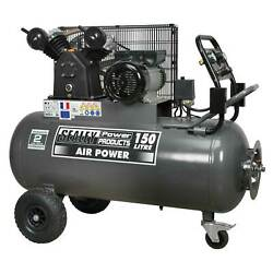 Sealey Compressor 150ltr Belt Drive 3hp with Front Control Panel - SAC3153B