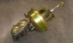 1955 1956 1957 Chevy Car 9 Brake Booster And Master Cylinder Bel Air 150 210