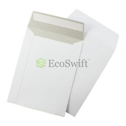 5000 - 6 X 8 White Cd/dvd Photo Shipping Flats Cardboard Envelope Mailers 6x8