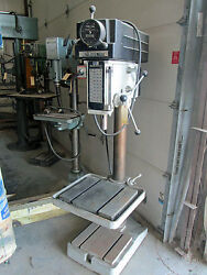 20 Msc Industrial Drill Press Model 508vs-20 With T-slotted Table And Base
