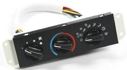 Omix-ADA 17903.06 Plastic Climate Control Panel for 99-04 Jeep Wrangler