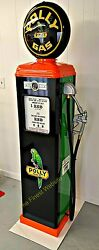 New Reproduction Polly Gas Pump Oil Antique Replica - Free Shipping